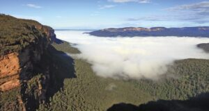 Blue Mountains, Australia. Credit David ireland Tourism Australia