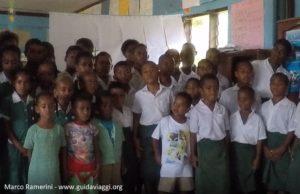 Bambini, Ratu Namasi Memorial School, Nabukeru, Yasawa, Figi. Autore e copyright Marco Ramerini