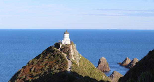 Il faro di Nugget Point, Catlins, Nuova Zelanda. Autore e Copyright Marco Ramerini