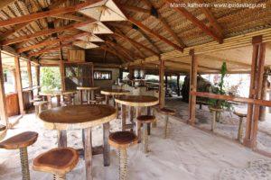 Il ristorante, Kuata, Isole Yasawa, Figi. Autore e Copyright Marco Ramerini
