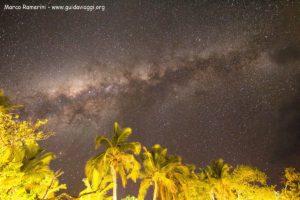 La Via Lattea, Kuata, Isole Yasawa, Figi. Autore e Copyright Marco Ramerini.