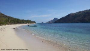 La spiaggia, Kuata, Isole Yasawa, Figi. Autore e Copyright Marco Ramerini.