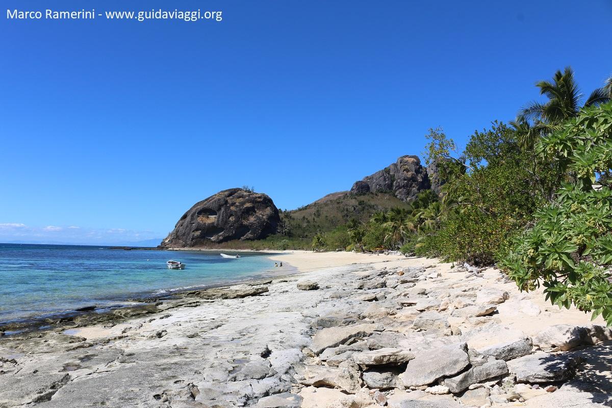 La spiaggia, Kuata, Isole Yasawa, Figi. Autore e Copyright Marco Ramerini