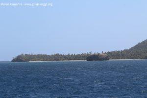 L'isolotto di Sivia all'estremo sud dell'isola di Yasawa, Figi. Autore e copyright Marco Ramerini.