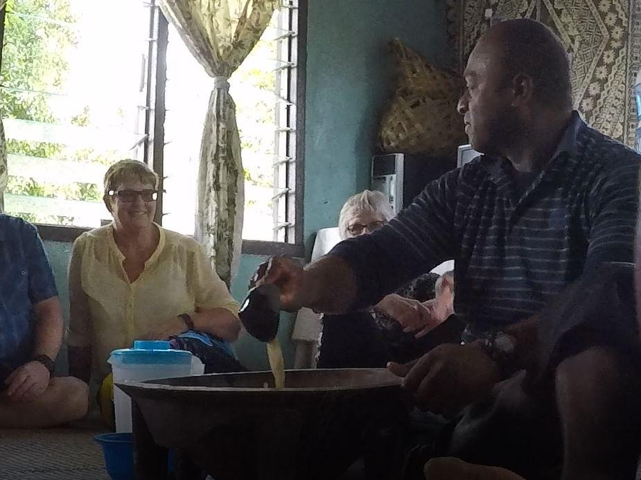 La cerimonia della Kava, Figi. Autore e Copyright Marco Ramerini