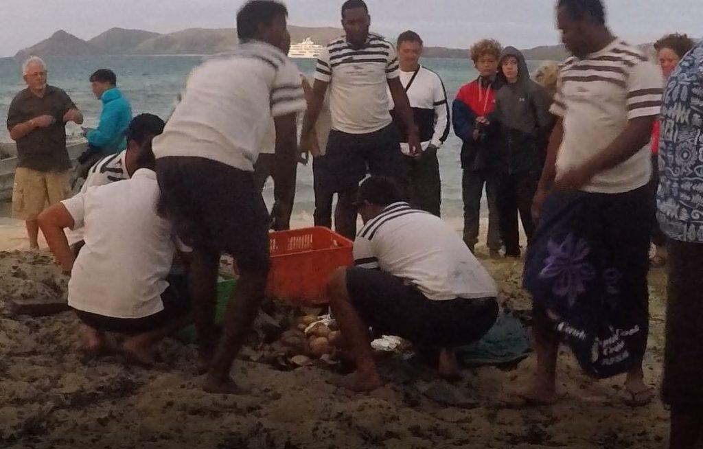 Preparazione del Lovo, Figi. Autore e Copyright Marco Ramerini