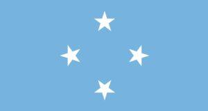 Bandiera degli Stati Federati di Micronesia