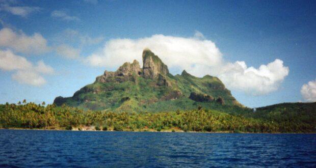 Bora Bora, Polinesia Francese. Autore e Copyright Marco Ramerini