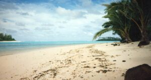Laguna di Muri, Rarotonga, Isole Cook. Autore e Copyright Marco Ramerini