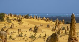 The Pinnacles, Nambung National Park, Australia. Credit Tourism Australia.