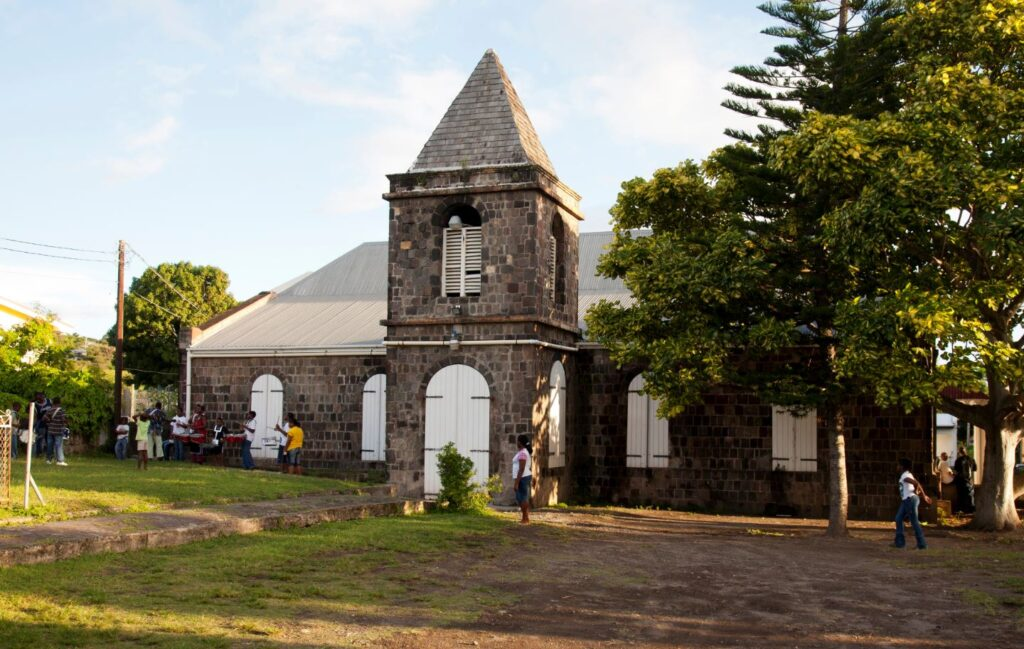 Antica chiesa, Sint Eustatius. Credit Cees Timmers