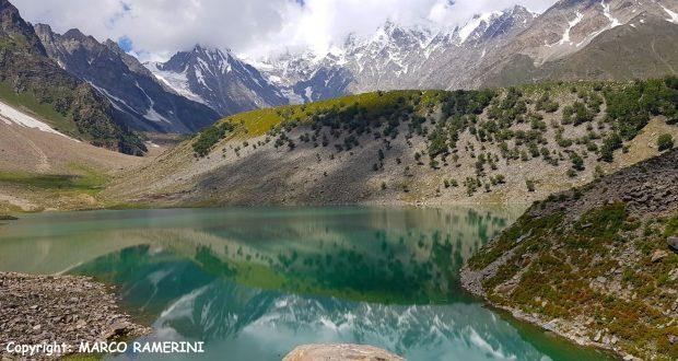 Il Lago Rama e le pendici del Nanga Parbat, Pakistan. Autore e Copyright Marco Ramerini